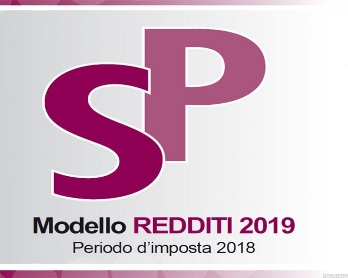 SP 2019 modello e istruzioni