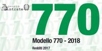 770/2018 modello e istruzioni