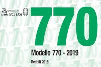770 2019 invio flussi separati