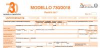 modello 730 2018 e istruzioni
