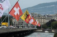 azioni svizzera bandiere
