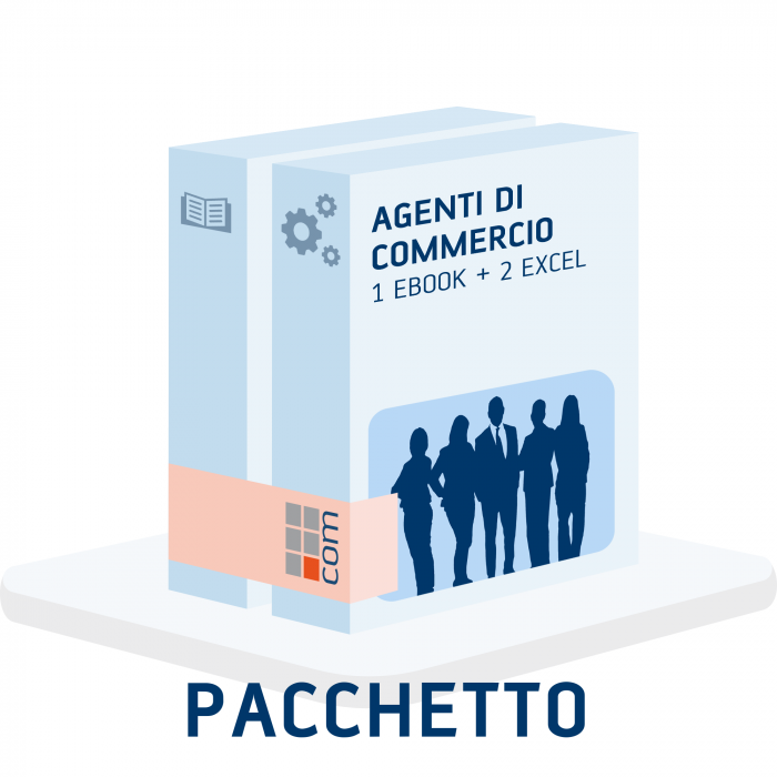 Agenti di commercio (Pacchetto 1 eBook + 2 excel)