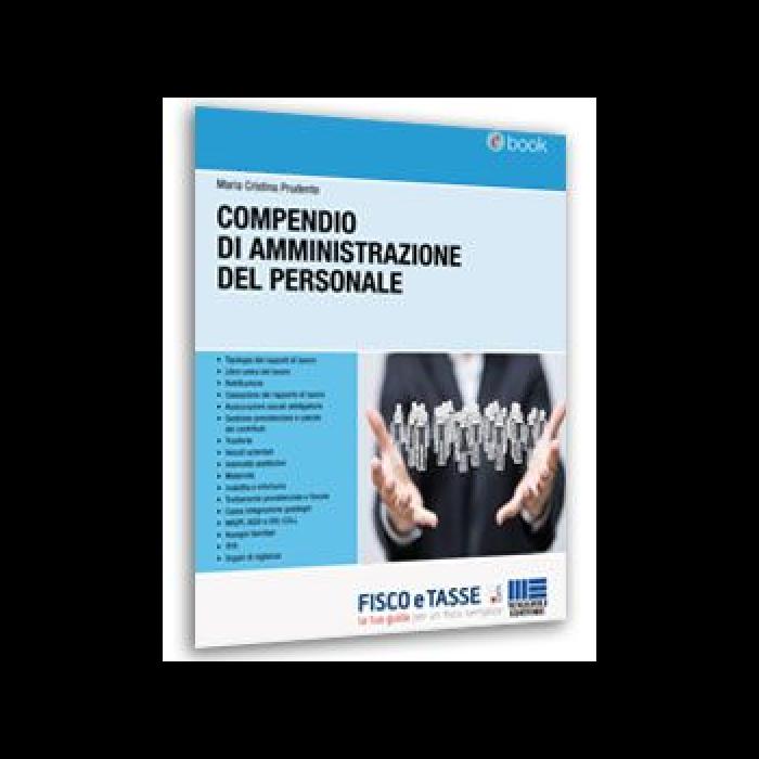 Compendio di amministrazione del personale (eBook 2016)