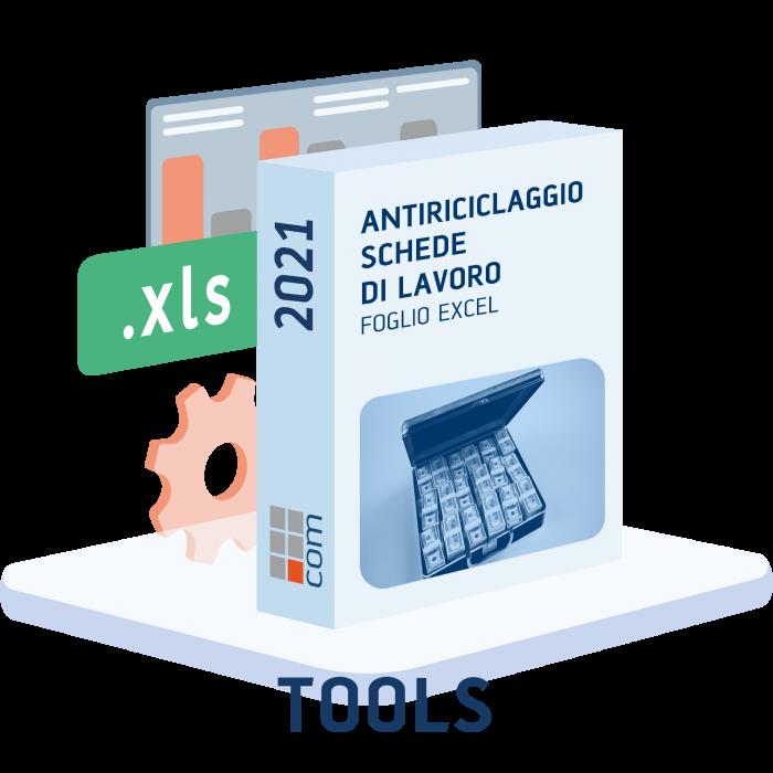 Antiriciclaggio Studio - Schede di lavoro (excel)