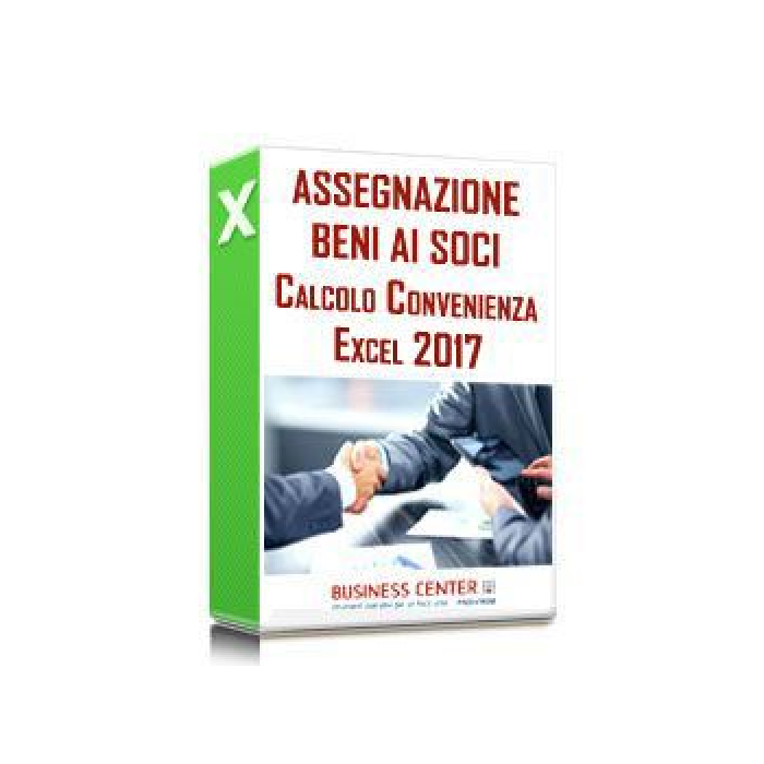 Assegnazione agevolata beni ai soci 2017 (excel)