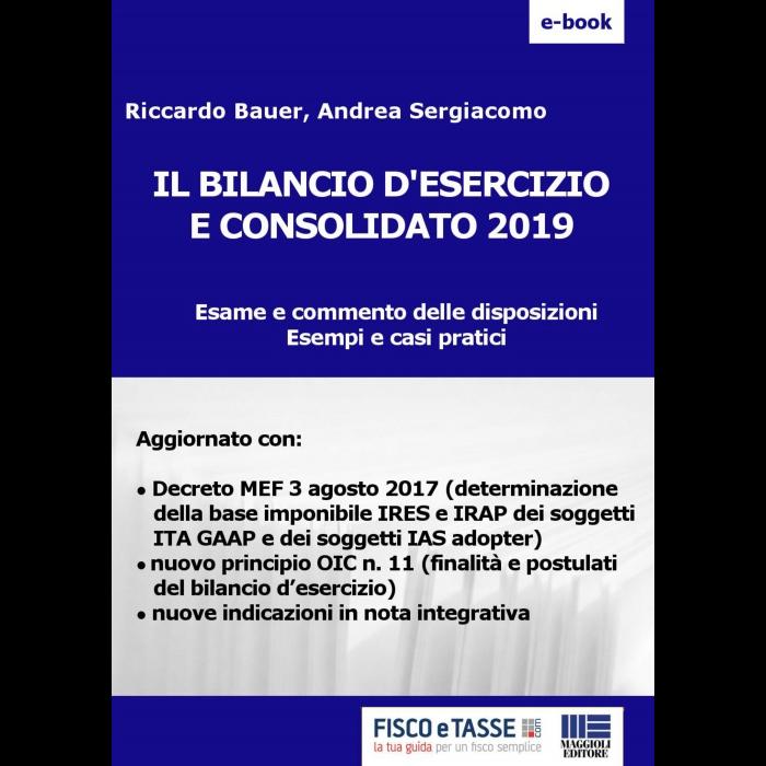 Il Bilancio d'esercizio e consolidato 2019 (eBook)