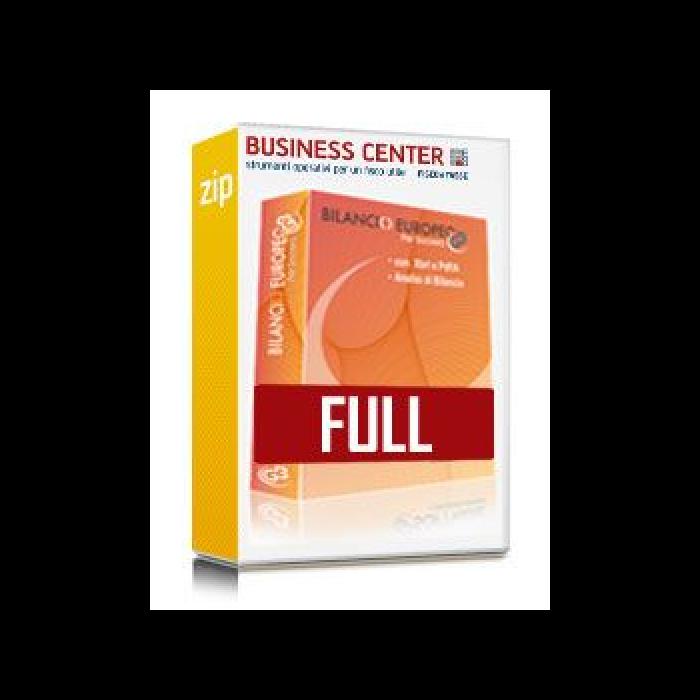Bilancio Europeo GB FULL - Software 1 anagrafica
