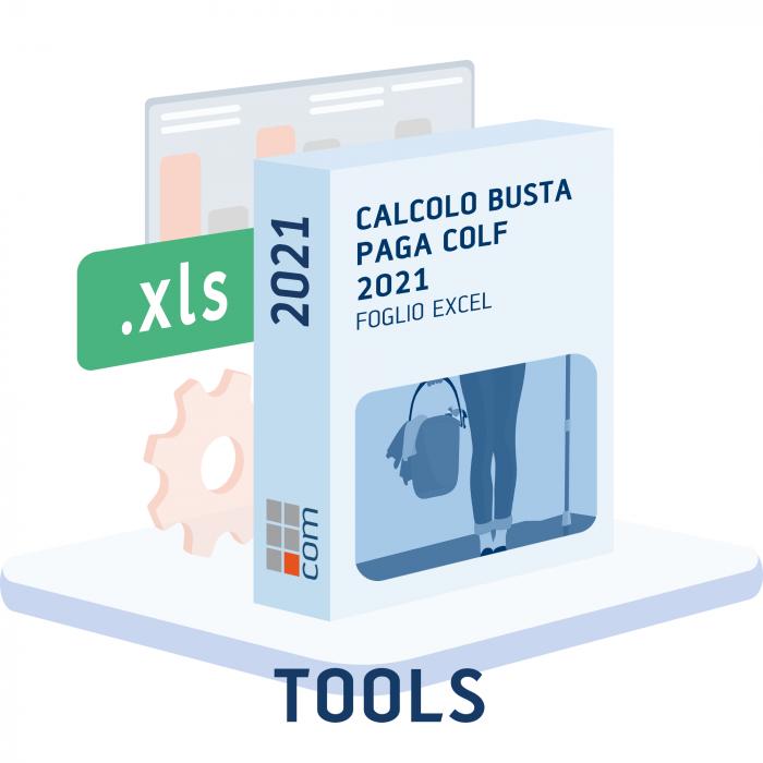 Busta Paga Colf 2021 - Foglio di calcolo (excel)