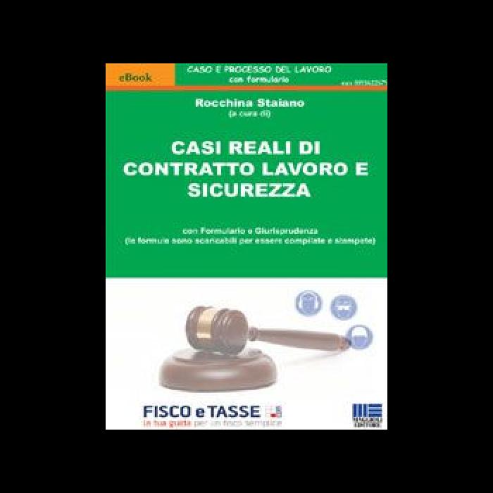 Casi reali di contratto lavoro e sicurezza (eBook)