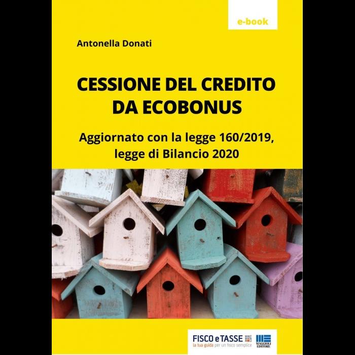 Cessione del credito da ecobonus (eBook 2020)