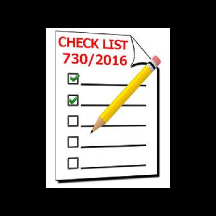 CHECK LIST per la raccolta dei documenti - 730/2016