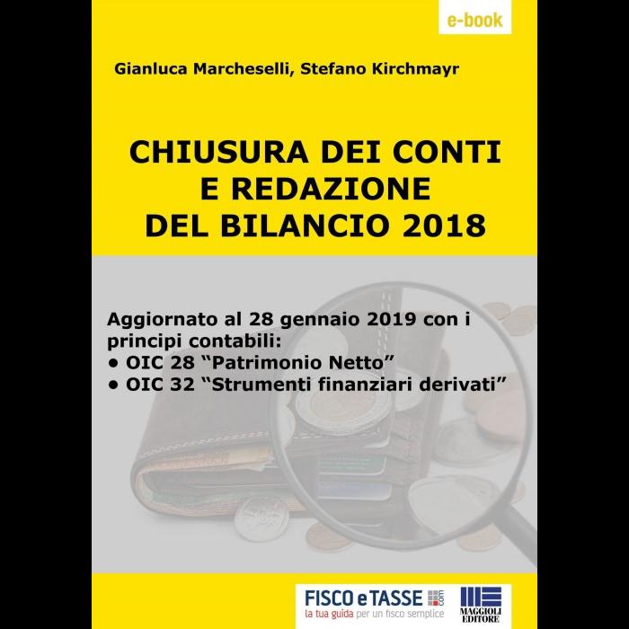 Chiusura dei conti e redazione del Bilancio 2018 eBook