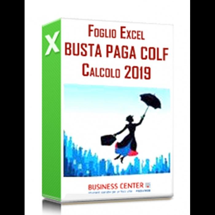 Busta Paga Colf 2019 - Foglio di calcolo (excel)