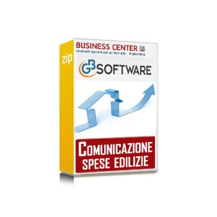 Software Invio spese edilizie - 3 Condomìni