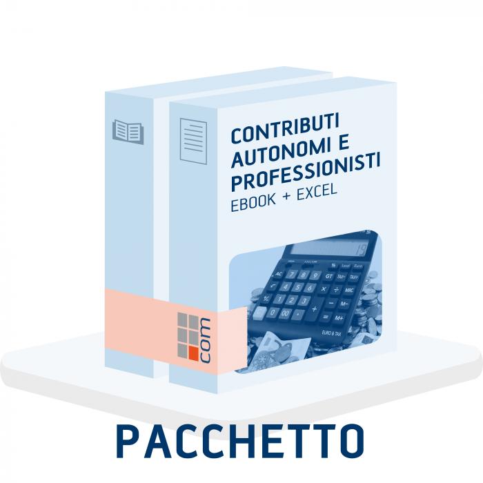 Contributi autonomi e professionisti 2021 eBook + excel