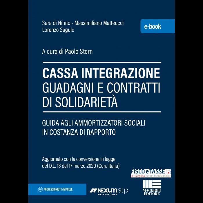 Cassa integrazione guadagni e contratti di solidarietà