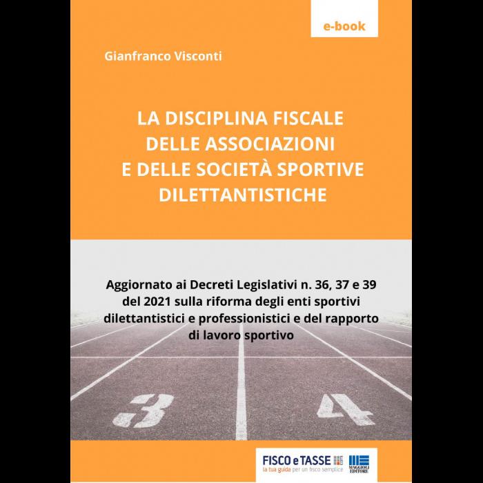 Disciplina fiscale delle associazioni sportive (eBook)