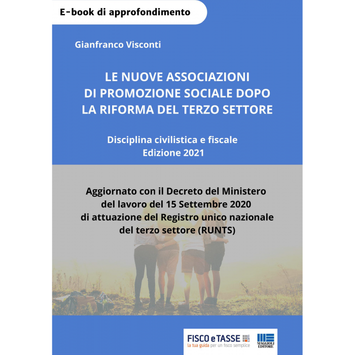 Le nuove associazioni di promozione sociale (eBook)