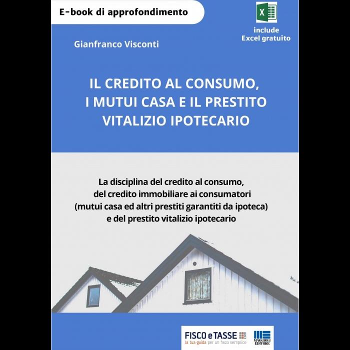 Credito al consumo, mutui casa, prestito ipotecario