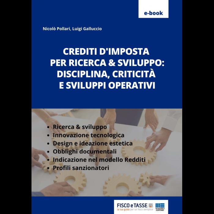Crediti d'imposta per ricerca e sviluppo (eBook 2021)