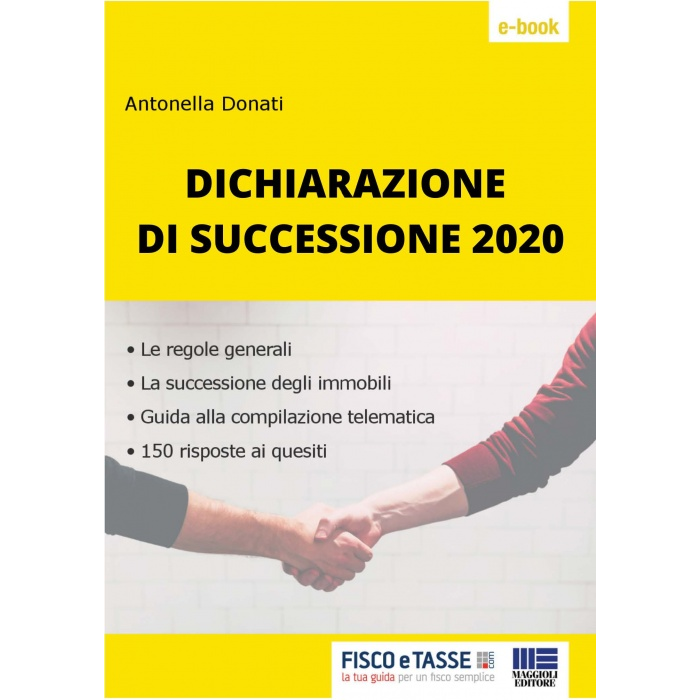 Dichiarazione di successione (eBook 2020)