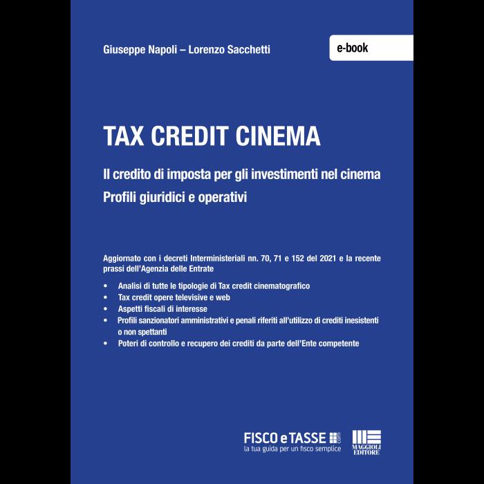 Tax credit cinema (eBook 2021)
