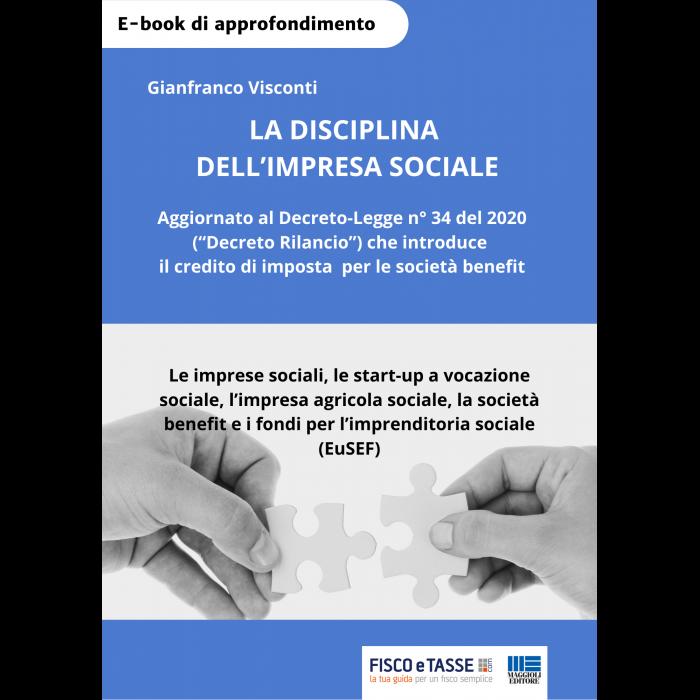 La disciplina dell'Impresa Sociale (eBook 2020)