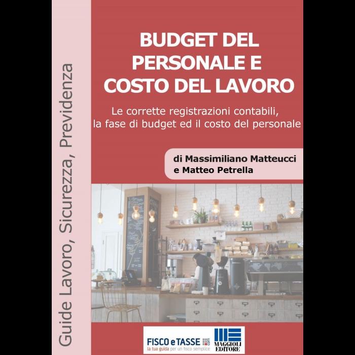 Budget del personale e costo del lavoro (eBook 2019)