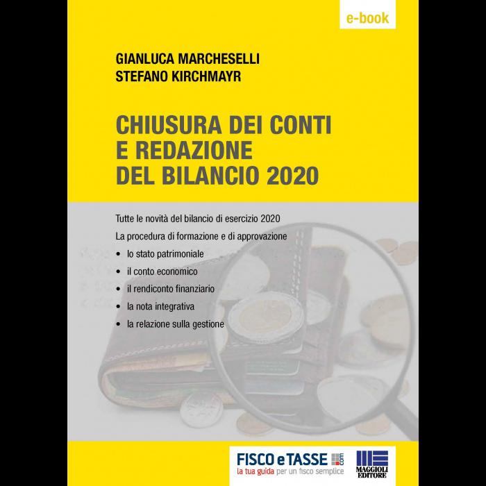Chiusura dei conti e redazione del Bilancio 2020 eBook