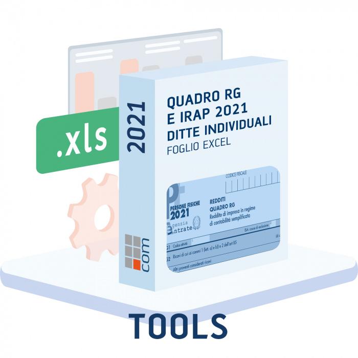Quadro RG e Irap 2021 ditte individuali in semplificata