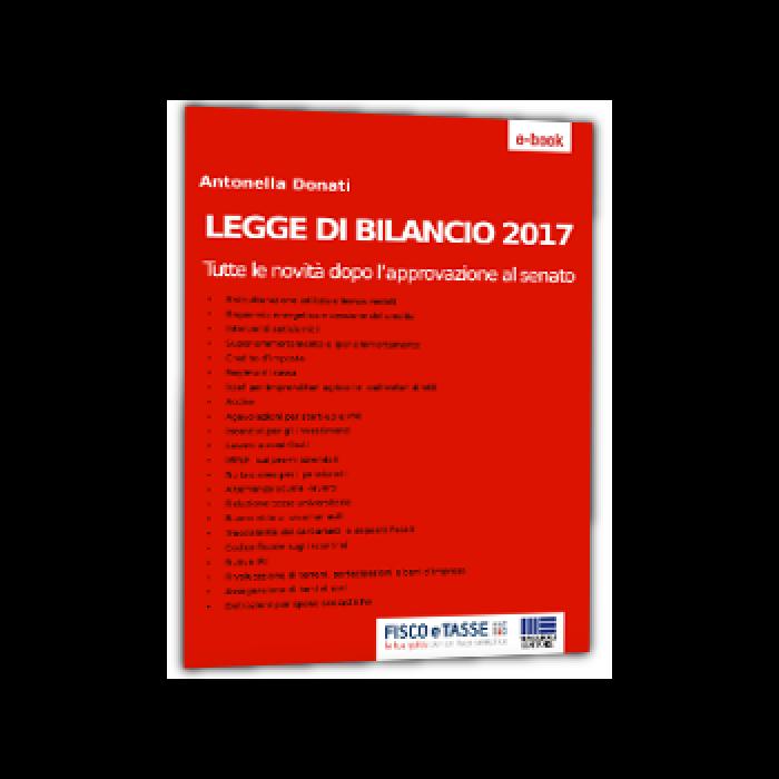 Legge di Bilancio 2017 (eBook)