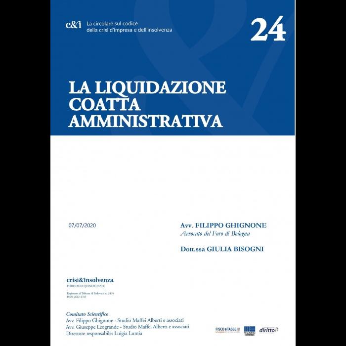 La Liquidazione coatta amministrativa