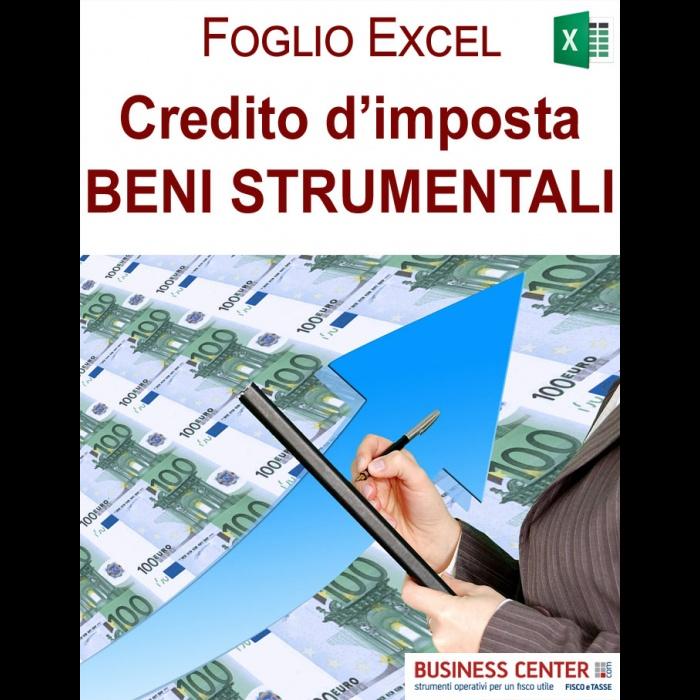 Credito di imposta nuovi investimenti 2020 (excel)