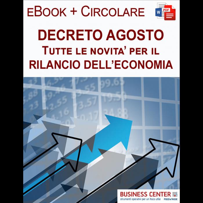 Decreto Agosto eBook + Circolare clienti