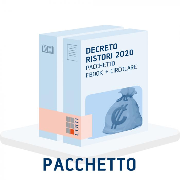 Decreto Ristori 2020 (eBook + Circolare)