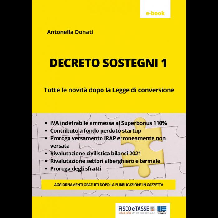 Decreto Sostegni 1 (eBook 2021)