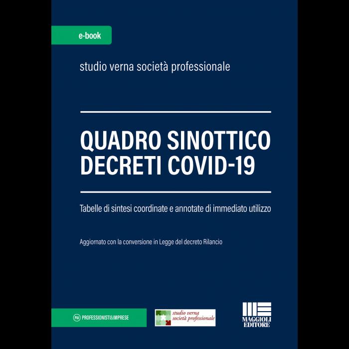 Quadro sinottico Decreti Covid-19 (eBook)