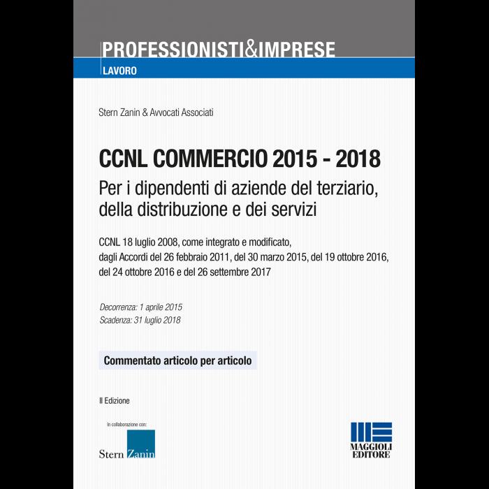 CCNL COMMERCIO 2015 - 2018