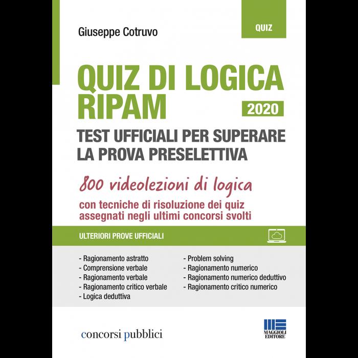 Quiz di Logica RIPAM - Test ufficiali+videolezioni