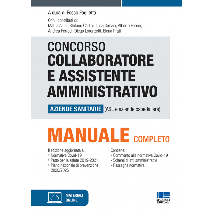Concorso Collaboratore e Assistente amministrativo