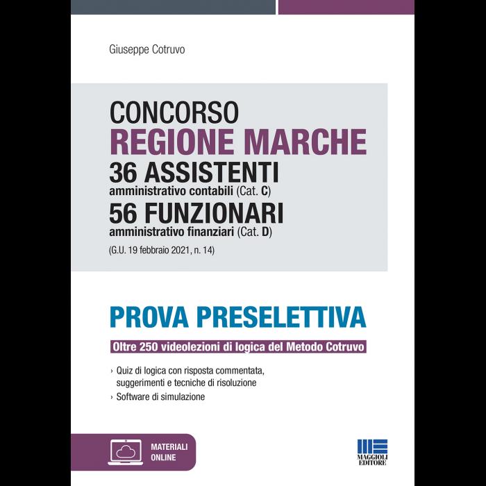 Concorso Regione Marche Assistenti ammin.-contabili