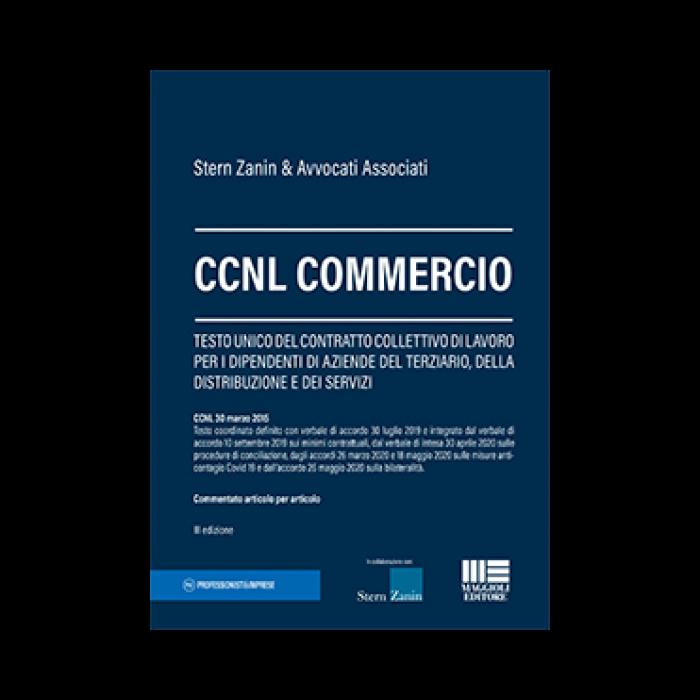 CCNL Commercio (testo accordi e commento) Libro carta
