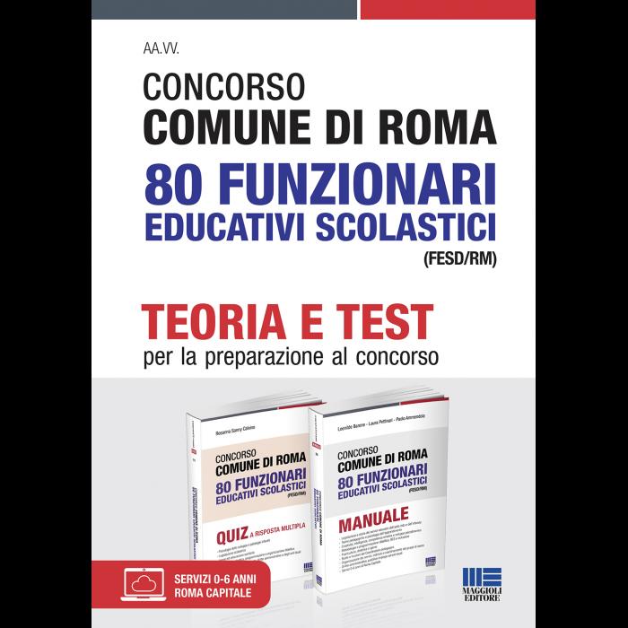 Concorso Comune Roma 80 Funzionari educativi