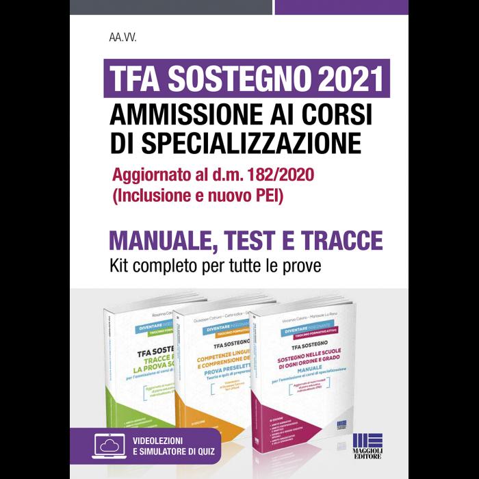 TFA Sostegno 2021 Ammissione ai corsi specializzazione