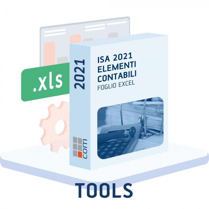 Elementi contabili ISA 2021 (Excel)