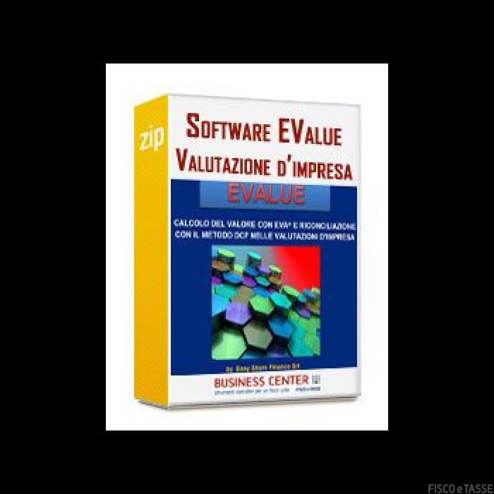 Software EValue - Valutazione d'impresa