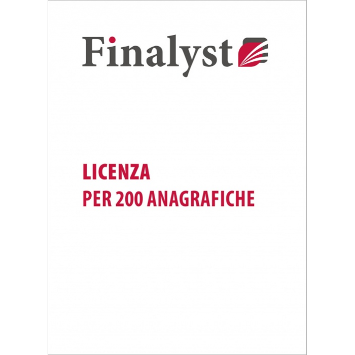 Finalyst Licenza Pro 200