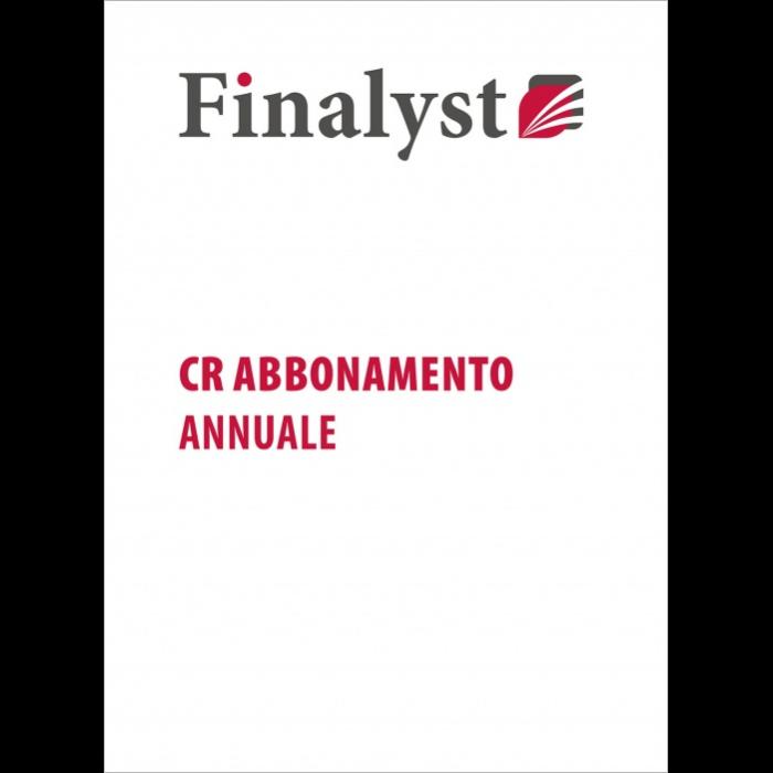 Finalyst Centrale Rischi abbonamento annuale