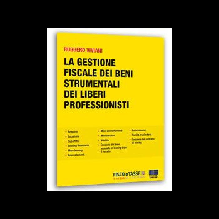 Gestione fiscale beni strumentali professionisti eBook