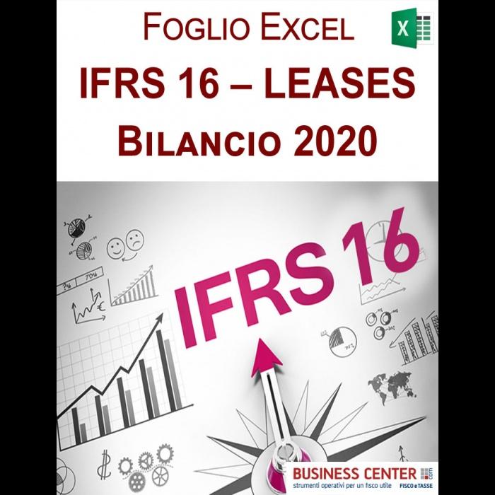 IFRS 16 – LEASES (Foglio Excel per Bilanci IAS)